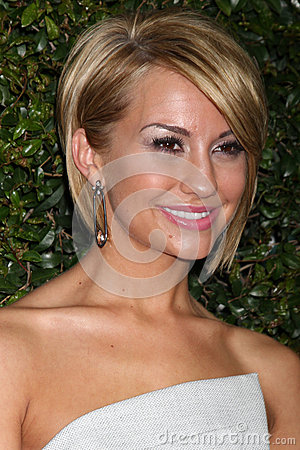 Chelsea Kane arrives at the ABC Family West Coast Upfronts Editorial Image