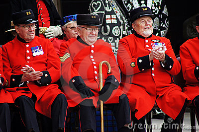 Chelsea Pensioners Editorial Photo