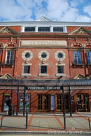Cheltenham theatre Editorial Stock Image