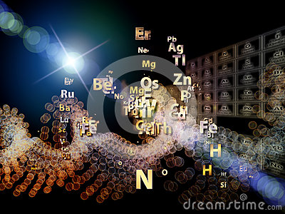 Chemical Elements Arrangement