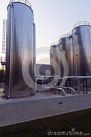 Free Chemical Factory  Plant Stock Photos - 25411993