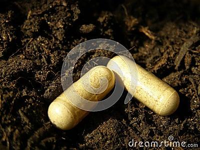 Chemical fertilizer tablets