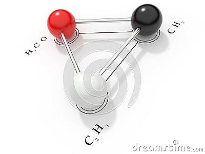 Chemical formula 3D