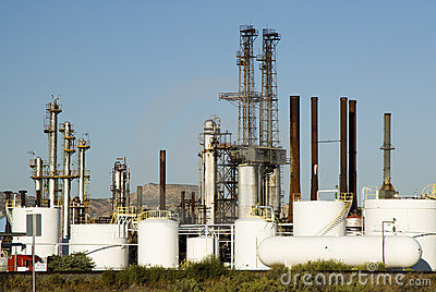 Chemical refinery