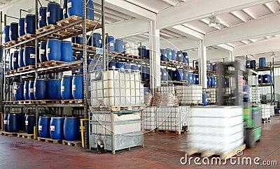 Chemical Storage Stock Photo Image 19364590