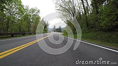 Chemin de la montagne de Curvy - Bas-Angle clips vidéos
