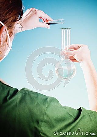 Chemist girl