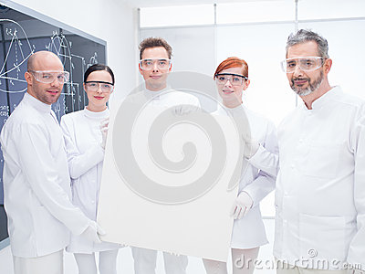 Chemist  laboratory team