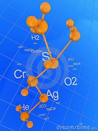 Free Chemistry Background Royalty Free Stock Photography - 13716317