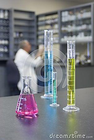 Free Chemistry Laboratory Royalty Free Stock Photos - 4243018