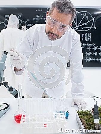 Chemistry laboratory experiment