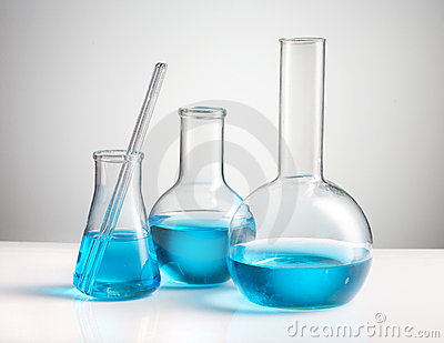Chemistry laboratory glassware