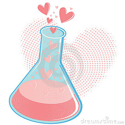 Free Chemistry Of Love Concept Or Love Potion Stock Photos - 14427293