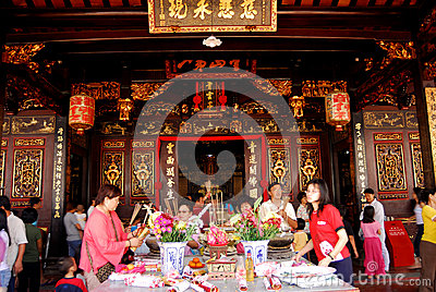The Cheng Hoon Teng temple Editorial Image