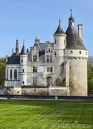 Free Chenonceau Castle Stock Photography - 45436142