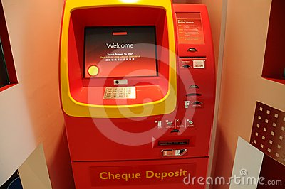 Cheque ATM Machine