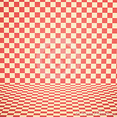 Chequered background