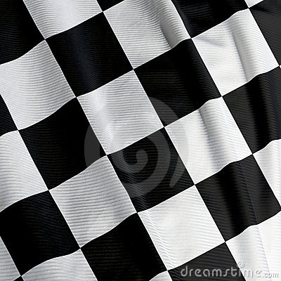 Chequered Flag Closeup