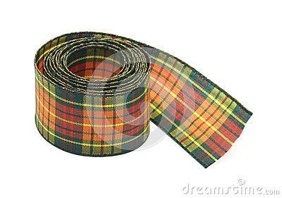 Chequered ribbon