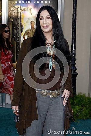 Cher Editorial Photo