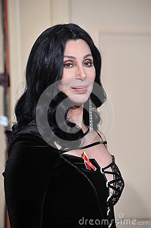 Cher Editorial Stock Image