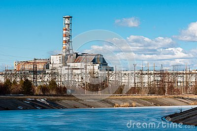 The Chernobyl Nuclear Power Plant at March, 2012