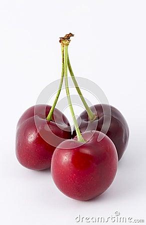 Free Cherries Royalty Free Stock Photo - 138435