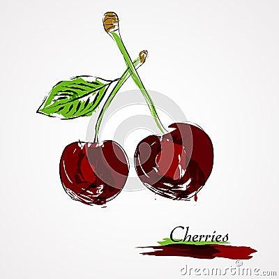 Free Cherries Stock Photos - 43182143