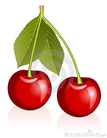 Free Cherries Royalty Free Stock Photography - 9777897