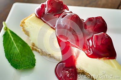 Cherries on Cheesecake