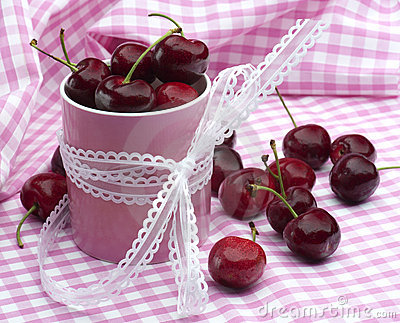 Cherries and Pink