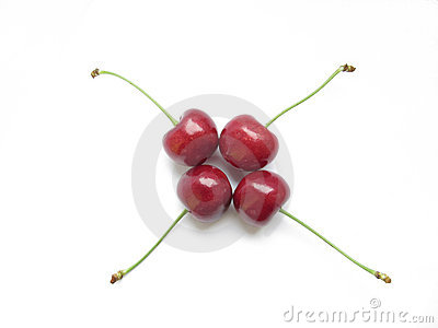 Cherries in symmetry
