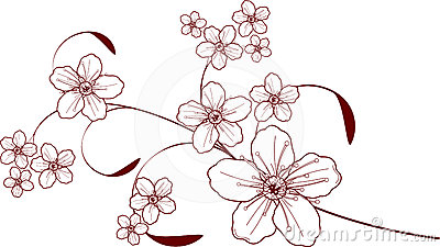 Cherry blossom design