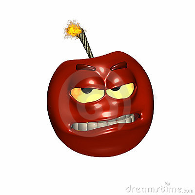 Free Cherry Bomb Royalty Free Stock Photos - 1128328
