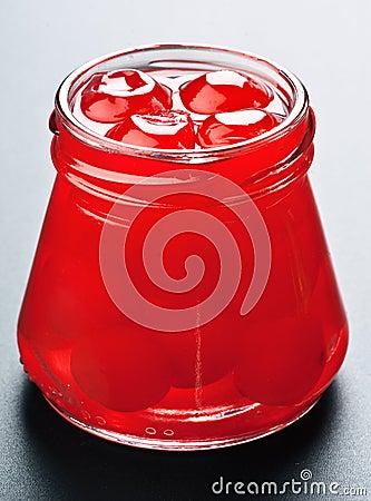 Cherry caramelized