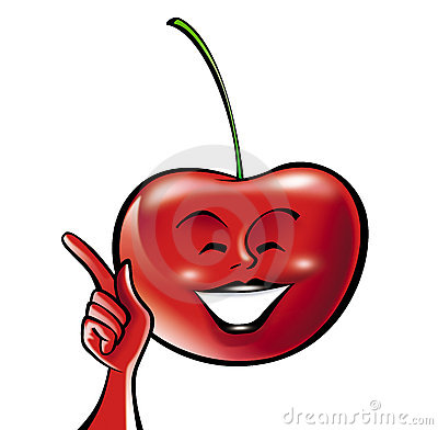 Cherry cartoon