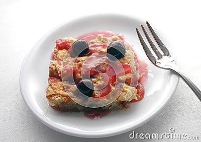 Cherry Cobbler - Cake I
