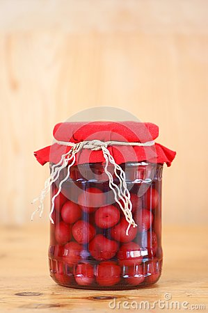 Free Cherry Compote Royalty Free Stock Images - 25516389