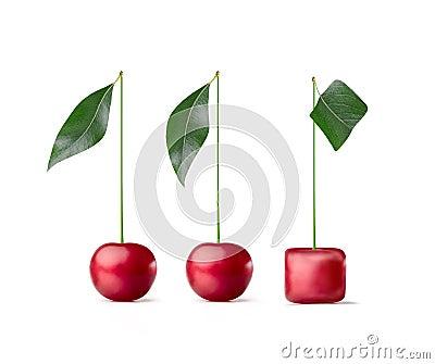 Cherry cube