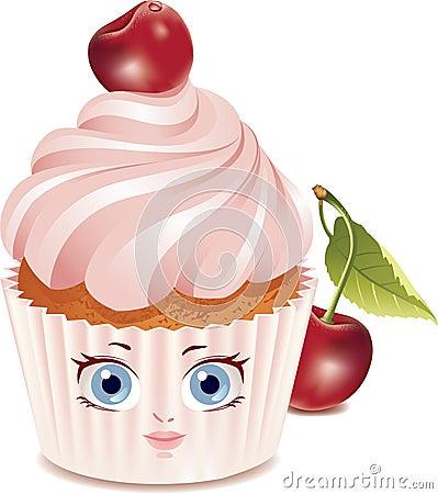 Cherry cupcake (character)
