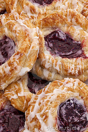 Free Cherry Danish Stock Photo - 23887840