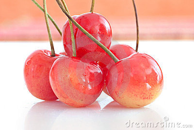 Cherry fruit healthy diet food