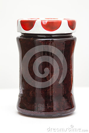 Free Cherry Jam  Stock Photo - 27698240