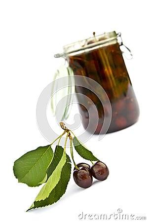 Cherry jar