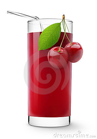 Free Cherry Juice Stock Image - 18646311