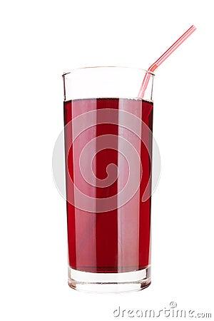 A cherry juice