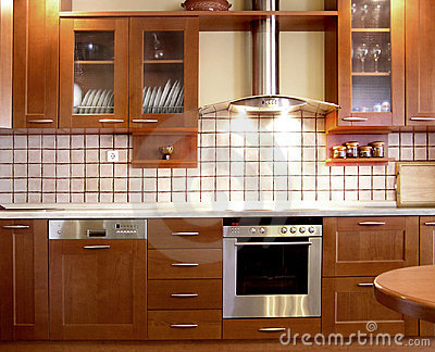 Cherry kitchen design