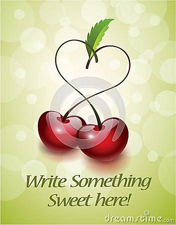 Cherry Love card
