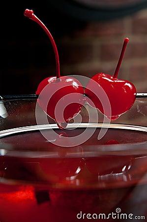 Cherry martini