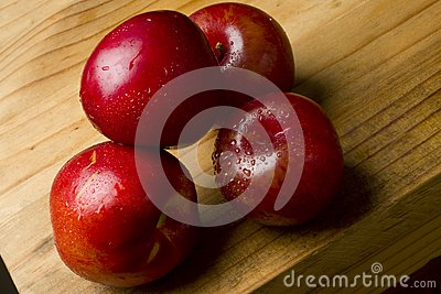 Cherry plums and nectarines